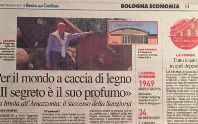 Intervista a Paolo Sangiorgi, Resto del Carlino Bologna