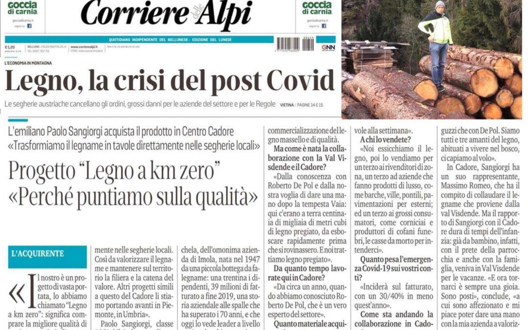 Legno, la crisi del post Covid